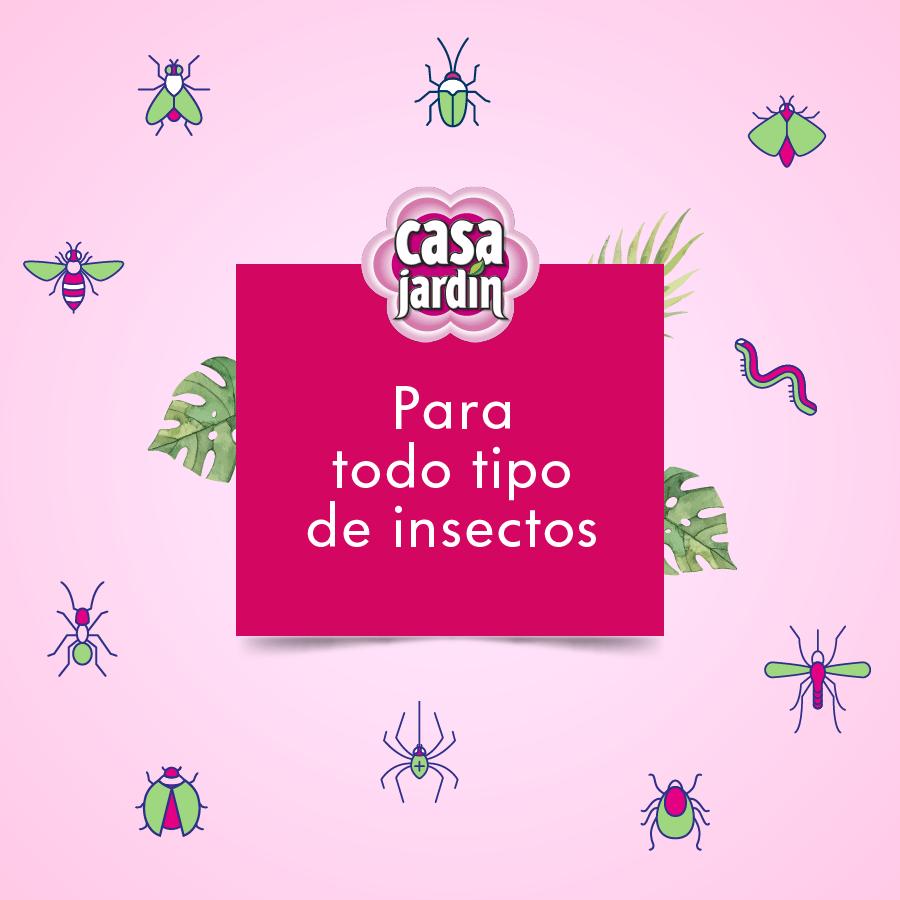 Casa Jardín, para todo tipo de insectos