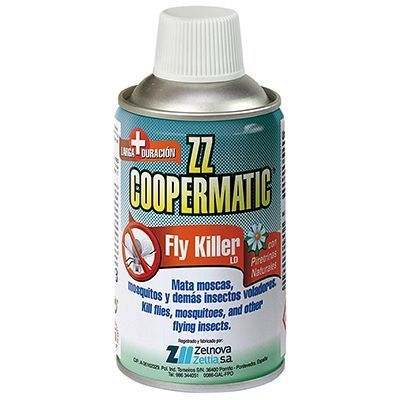 ZZ COOPERMATIC Fly Killer Piretrinas Naturales